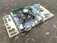i5-3330 @ 3.00GHz 6GB DDR3 Gigabyte GA-B75M-D2V Combo Ram CPU Tested Works EE607