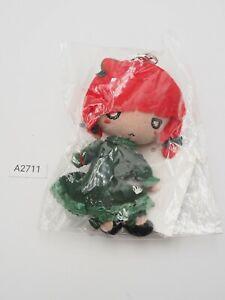 """Touhou Project Funi A2711 Rin Kaenbyou Phantasm Mascot Strap 4.5"""" Plush Toy Doll"""