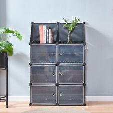 6 Doors Plastic Shoe Cabinet Shoe Rack Home Multi Use Organizer Storage Plastic
