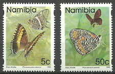 Namibia - Postage stamps: Butterflies Set 1993 mint Mi.Nr. 751+756 C