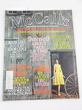 McCall's Women's Magazine June 1961 -1960s Swimsuits - Betsy McCall - Sandwiches