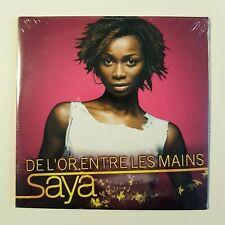 SAYA : DE L'OR ENTRE LES MAINS ♦ CD Single NEUF ! ♦