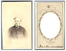 Baron de Thoren Lourdes CDV vintage albumen carte de visite,  Tirage albuminé