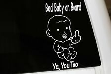 Baby decal graphic, Baby on board, Chevy, Ford, Dodge, Camaro, mustang,mini van