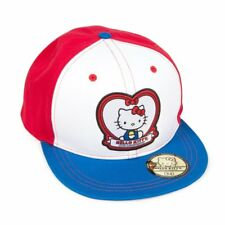 40th Anniversary HELLO KITTY Heart Hat Ball Sport Cap Adjustable Strap Back NTW