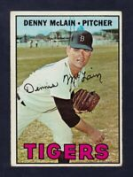 1967 Topps #420 Denny McLain Detroit Tigers NM near mint condition