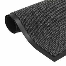 vidaXL Droogloopmat Rechthoekig Getuft 40x60 cm Antraciet Schoonloopmat Mat