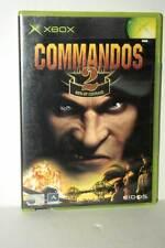 COMMANDOS 2 MEN OF COURAGE GIOCO USATO XBOX EDIZIONE ITALIANA PAL AT3 43435