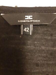 Elisabettafranchi Tg 42 Col Nero