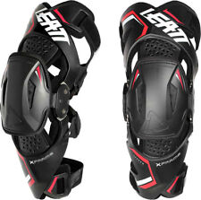 Leatt Knee Brace X-frame Pair Black Motocross MX SX ATV off Road Bike