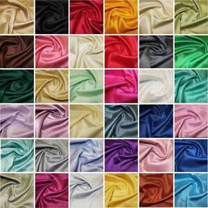 Satin Backed Shantung Dupion Faux Silk Dress Fabric Wedding 146cm Wide