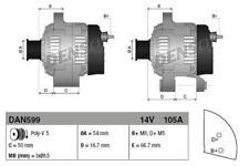 Alternator 46758246 For FIAT 500 Hatchback (312) 1.2,1.4 16V LPG Natural Power 6