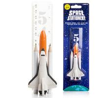 Space Stationery Suck UK Bleistifte Lineal Kugelschreiber Radiergummi Raumschiff