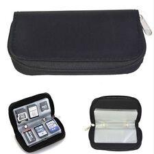 CASE WALLET ORGANIZER STORAGE HOLDER Mini Micro SD/xD/TF/CF/MMC/MS/SIM CARD 3C