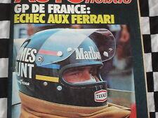 auto-hebdo n°21 1976 / GRAND-PRIX FRANCE / PAUL RICARD GR.1 & FRE / 24 H D'YPRES
