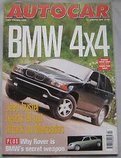 AUTOCAR 21/1/1998 featuring Venturi Atlantique, Nissan Primera GT, Lexus, BMW