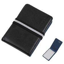 YCC1012 Black Blue Wallet With Rubber Band Fashion Mens Credit Card By Y&G