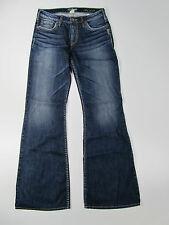 Silver Jeans Manori Trousers Hose Denim Jeans Pantalone Blau Neu 28