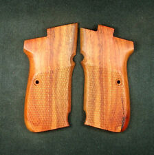 Rosewood Checkered Grips Set For CZ 83 #237