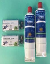 2 x Wasserfilter + 2 x Hygienefilter SBS001 SBS002 Bauknecht Side by Side WF004