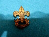 "Vintage Miniature Boy Scout Pin ""Be Prepared"""