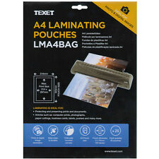 A4 150 Micron Laminating Pocket Pouches Pack of 25 Sheets LMA4BAG