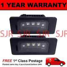 2X FOR BMW 3 SERIES E46 E90 E91 E92 E93 M3 METAL 3 CREE LED NUMBER PLATE LAMP