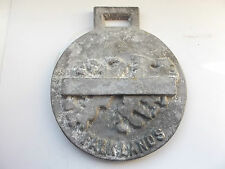 falklands        falkland islands   alloy plaque - fob