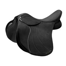 Wintec LITE WIDE All Purpose D'Lux Adjustable General Purpose Saddle HART Black
