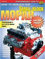 SA143P How to Rebuild the Small Block Mopar Chrysler Book 273 318 340 360 5.2