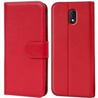 Handy Hülle für Wiko Lenny 5 Case Schutz Tasche Cover Wallet Flip Etui Bookcase