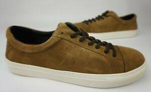 Royal Republiq Brown Spartacus Sneakers Men's Suede Shoes Size 45