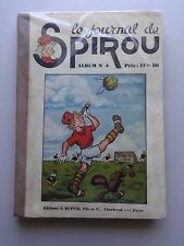 BD  album le journal de Spirou - N°4- EO- cartonnée-1939 -TBE- Collectif