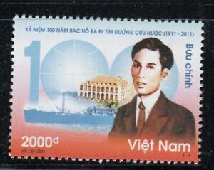 VIETNAM Young Ho Chi Minh Departs Vietnam MNH stamp