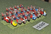 25mm dark ages / viking - warband 20 figs - inf (12205)