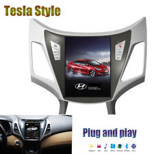 """10"""" Touch Tesla style Android GPS Navigation 32GB for Hyundai Elantra 2012-2015"""