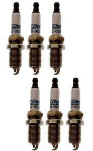 Set Of 6 Spark Plugs AcDelco For Caddy CTS Chrysler Pacifica Dodge Charger V6