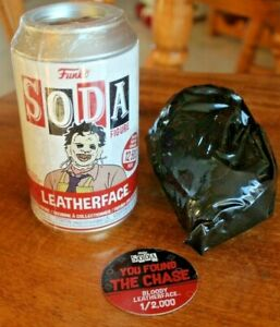 "Funko SODA LEATHERFACE CHASE 1 of 2,000  Vinyl Figure 4.25"" Leatherface Chase"