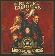 Monkey Business [UK Bonus Tracks] by The Black Eyed Peas (CD, May-2005, Universal International)