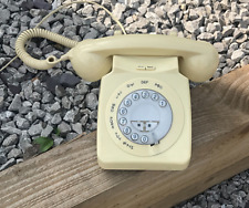 Geemarc Mayfair Corded Telephone Cream Working With Free Front Labels