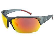BOLLE Ransom Sports Sunglasses Crystal Grey / Polarised TNS Fire Mirror 11696