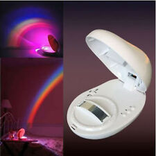 Baby Cot Nursery Mobile Toy Rainbow Projector Night Light Starlight Show