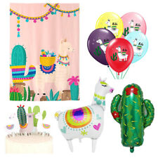 Llama Party Decoration Set, Llama Girl Birthday Baby Shower Party Supplies