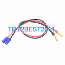 EC2 TO 4mm BANANA PLUG BATTERY CHARGE CABLE CONNECTOR