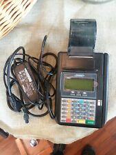 Hypercom T7Plus T 7 Plus Credit Card Terminal Machine & Power Supply Preowned