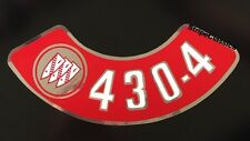1967 1968 1969 BUICK 430-4V Air Cleaner Decal - New 67 68 69
