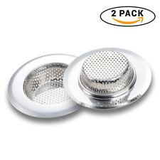 Sink strainer baskets 4.5 Inch Heavy Duty Kitchen Sink Basket Strainer (Pack 2)