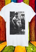 Lily Allen Smile Boobs Out Sexy Singer Car Men Women Unisex T-shirt 2750
