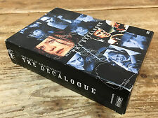 Krzysztof Kieslowski's The Decalogue 3 DVD Set 014381949926 Ten Brilliant Films
