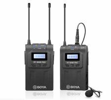 Boya BY-WM8 PRO-K1 UHF Wireless microphone Kit TX RX 2 MIC (UK Stock) BNIB